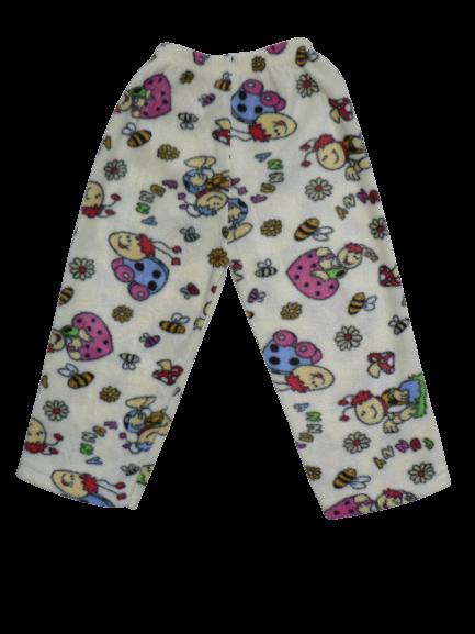 00015 Брюки цветные на резинке (флис) МОЛОЧНЫЙ