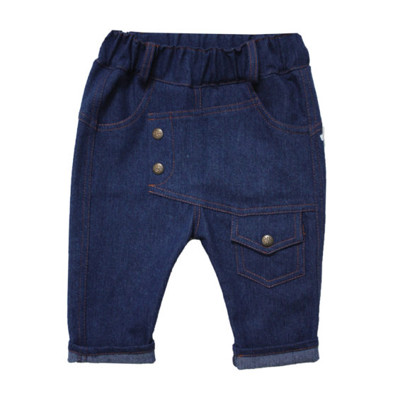 63986 Брюки для мальчика (джинс)