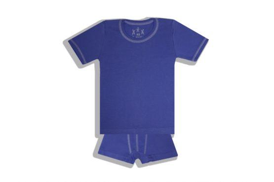 Арт. 23925, Комплект футболка+боксеры (рибана)
