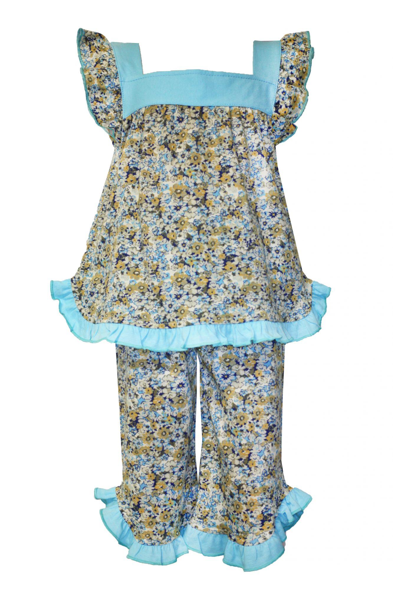 37538 Пижама с рюшкой (супрем)