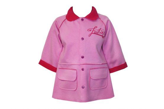 41462 Детское пальто для девочки (супрем+флис)