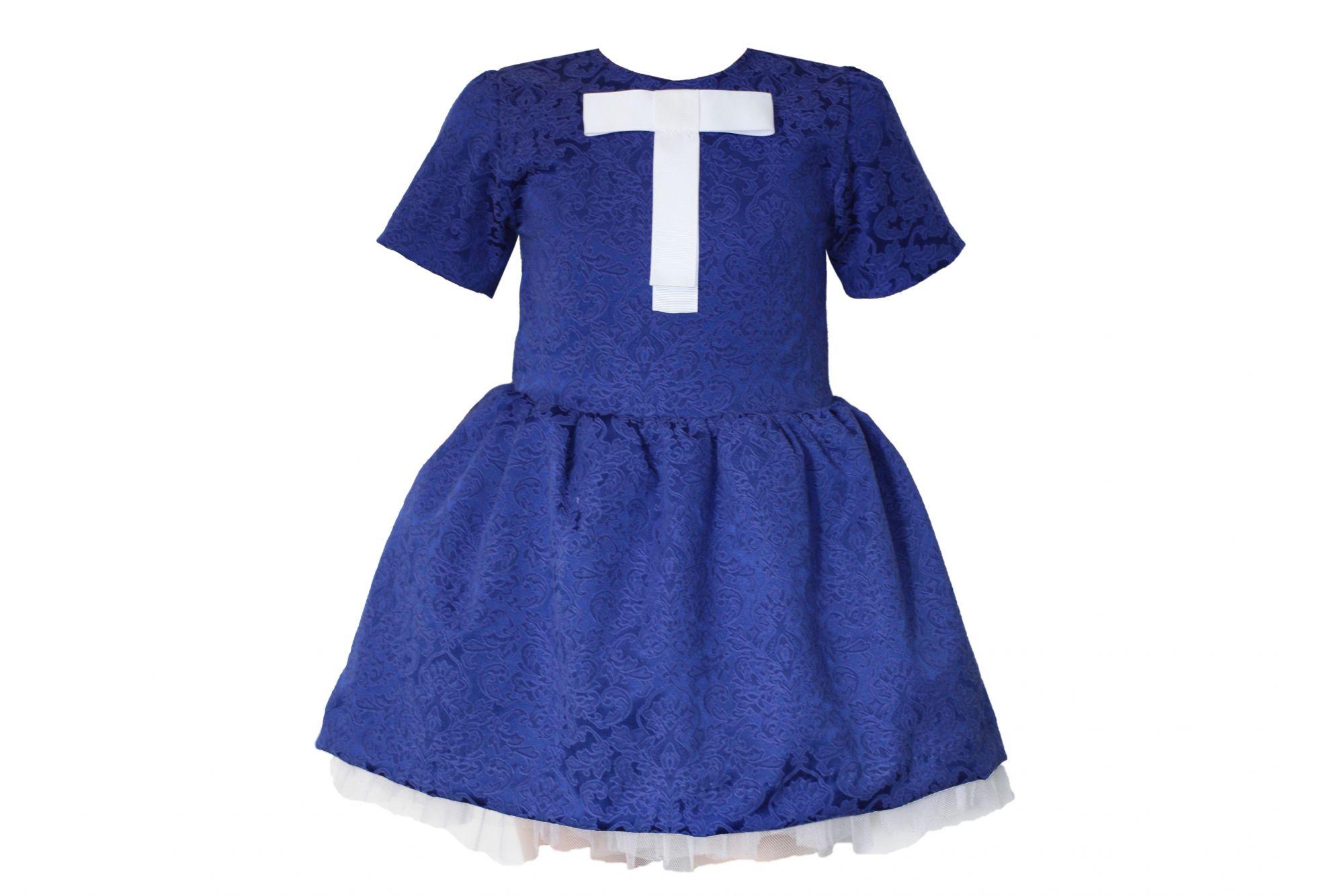 42669 Платье (жаккард) МИКС