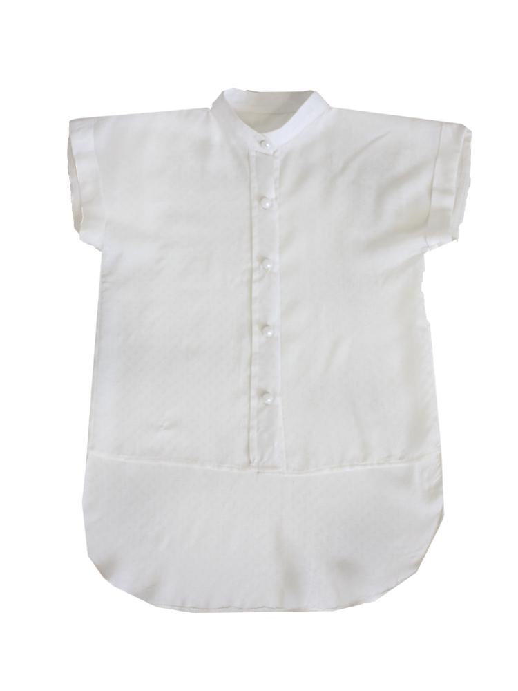 53550 Рубашка (штапель) детская МОЛОЧНЫЙ