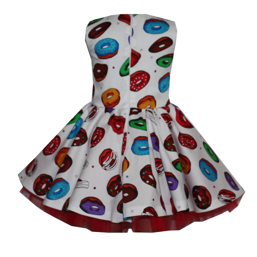 66087 Платье (поплин) ПОНЧИКИ (размер 140)