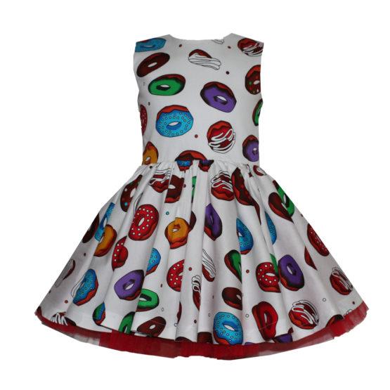 66087 Платье (поплин) ПОНЧИКИ (размер 152)