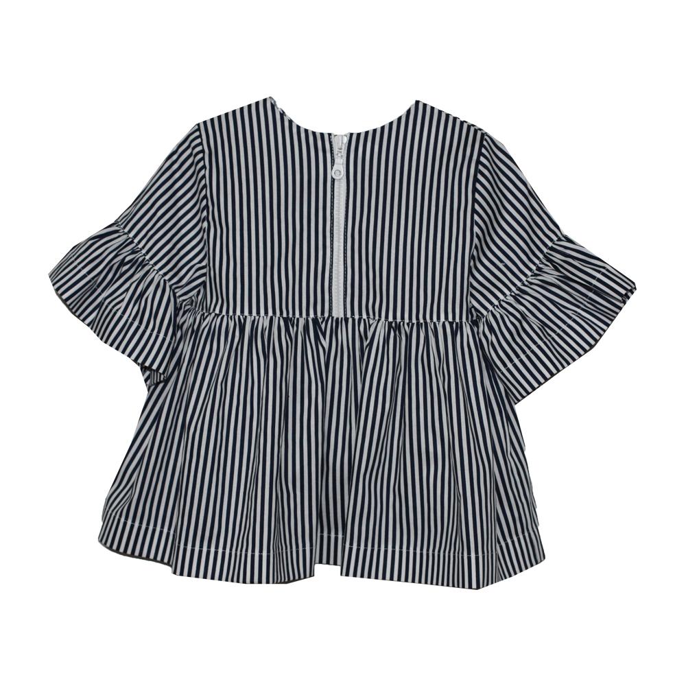 65987 Блуза на молнии (поплин) ЧЕРНЫЙ