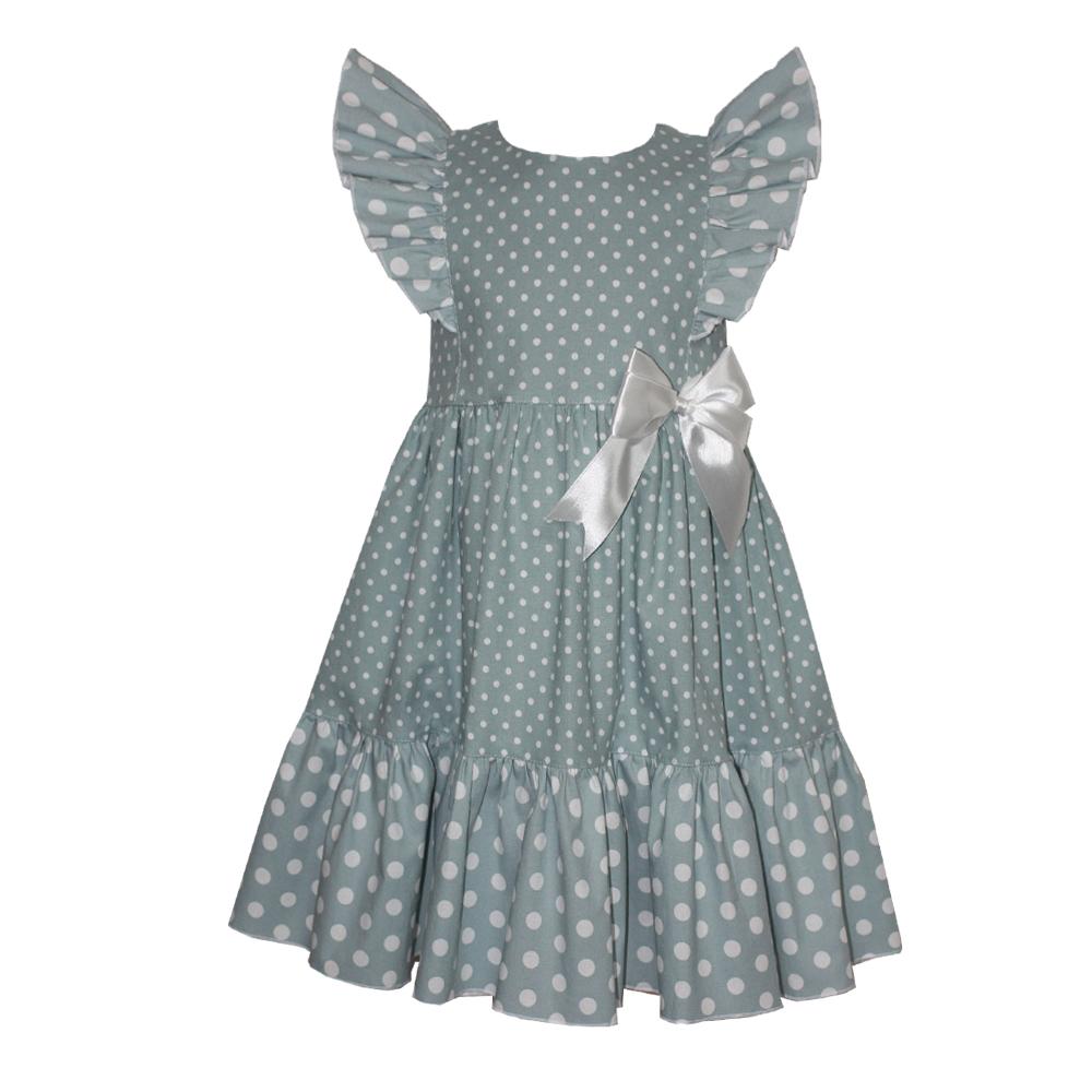 67286 Платье (джинс) ЗЕЛЕНЫЙ