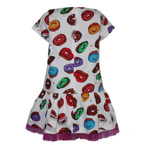 66187 Платье (поплин) ПОНЧИКИ