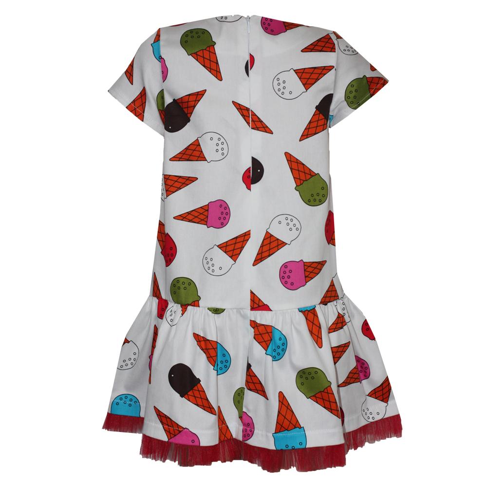 66187 Платье (поплин) МОРОЖЕНОЕ