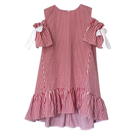 67487 Платье (поплин) КРАСНЫЙ