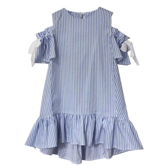67487 Платье (поплин) ГОЛУБОЙ