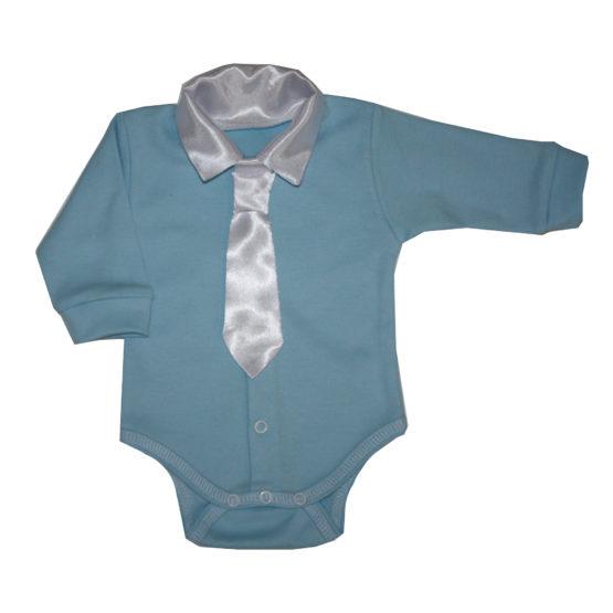 77820 Боди с галстуком (интерлок)