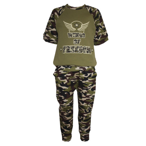 AE1023 Костюм футболка+брюки (интерлок)