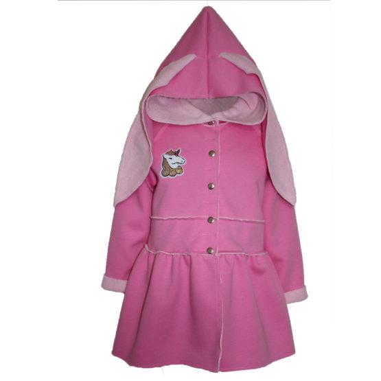 82781 Куртка (велсофт+супрем) РОЗОВЫЙ