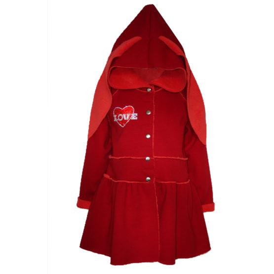 82781 Куртка (велсофт+супрем) КРАСНЫЙ