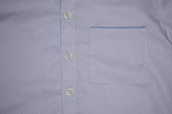 047886 Рубашка для мальчика детская (поплин)