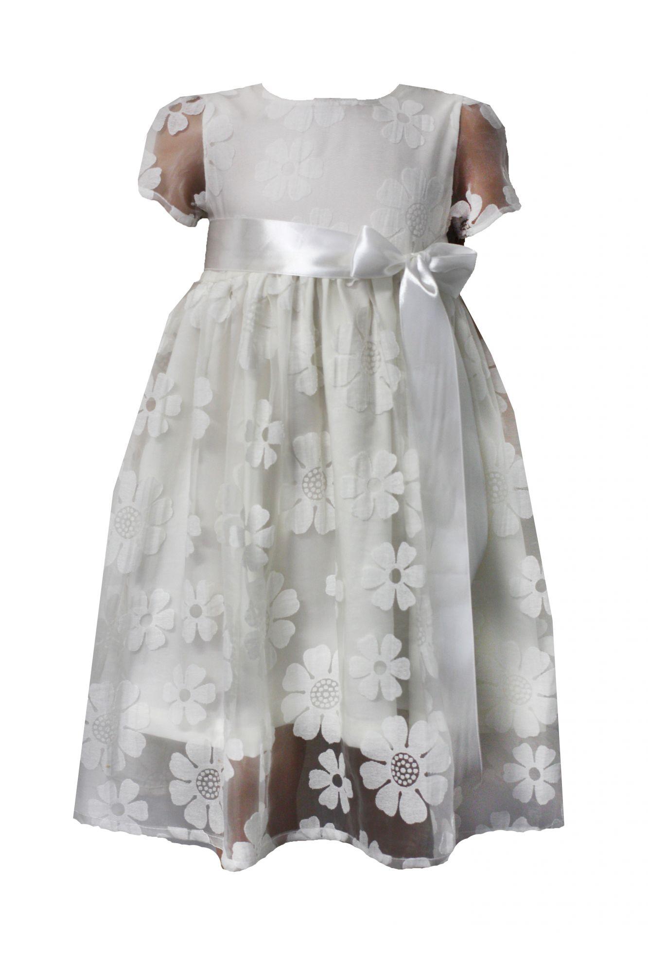 52194 Платье (органза) МОЛОЧНЫЙ