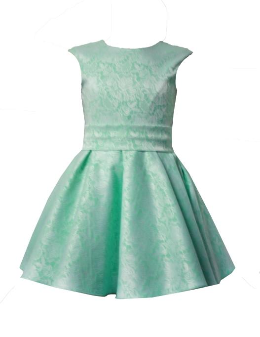 45371 Платье «Мерлин» (жаккард) МИКС