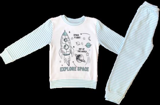 59410111 Пижама (интерлок) РАКЕТА
