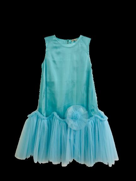 80361 Платье СВЕТЛО-ЗЕЛЕНЫЙ (размер 134)