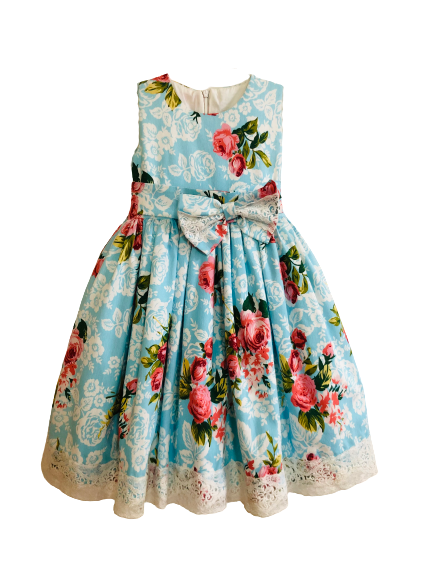 48188 Платье ГОЛУБОЙ (размер 110)
