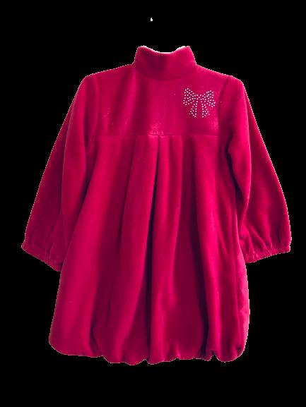 Арт. 21530, Платье (флис) МАЛИНОВЫЙ