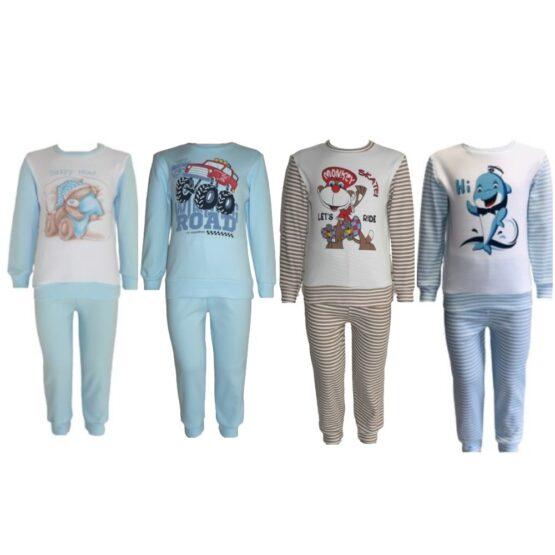 58723 Пижама для мальчика (интерлок) МАЛЕНЬКИЕ РАЗМЕРЫ, МИКС ЦВЕТОВ
